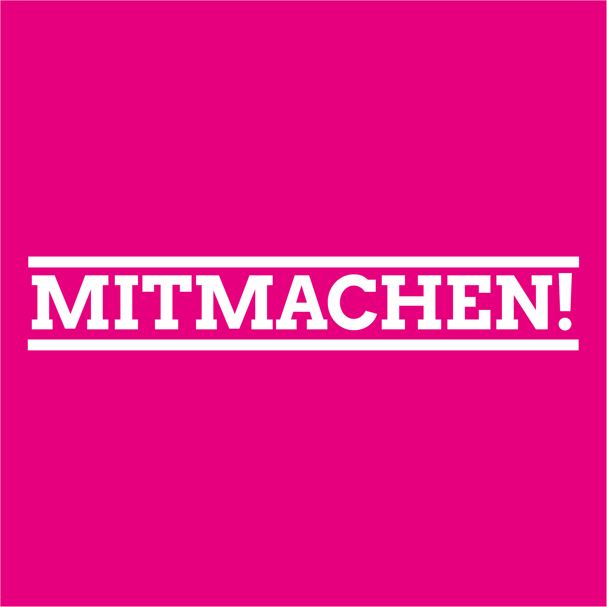 Mitmachen