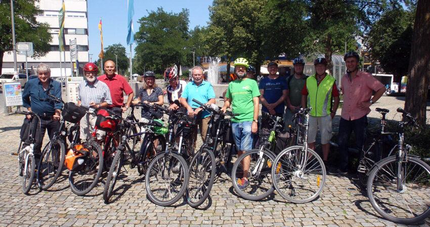 Radfahren in Traunstein